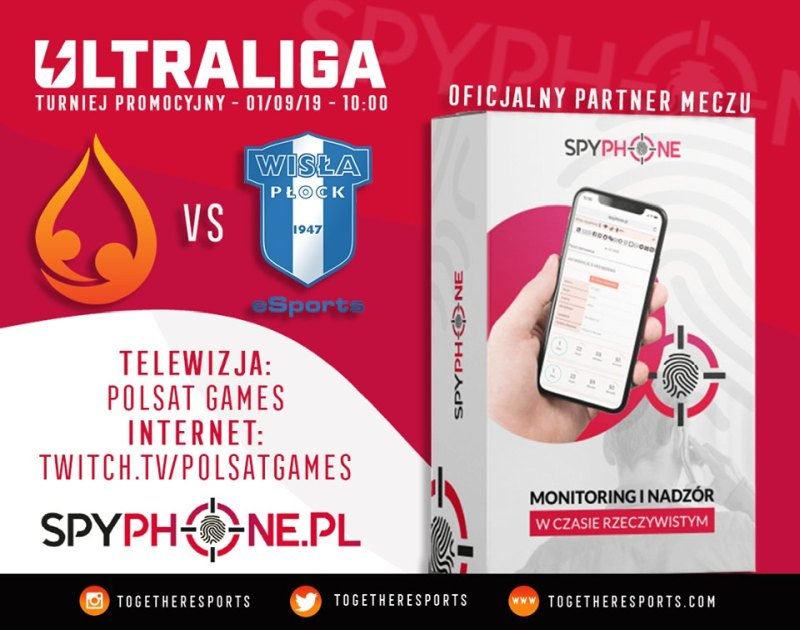 spyphone.pl partner Together Esports